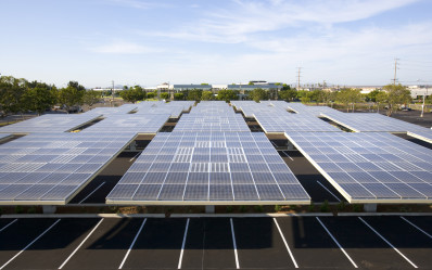 an untapped solar resource - the parking lot