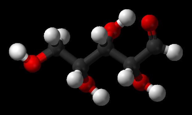 D-xylose-chain-3D-balls