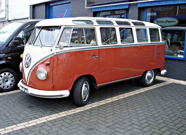 The Volkswagen Bus lends itself nicely to EV conversions.