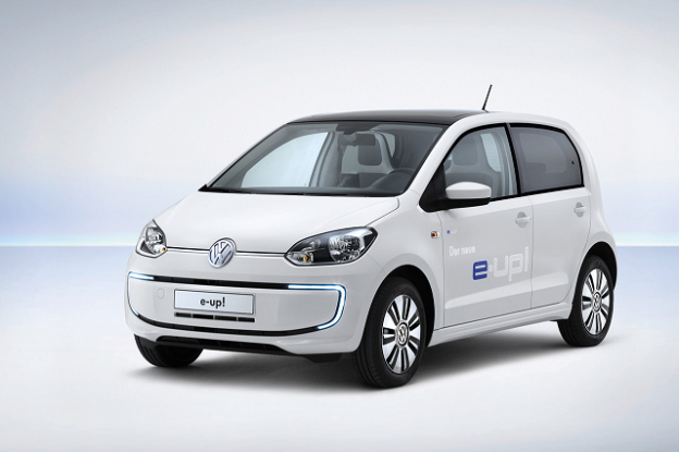 Volkswagen has added to its World Car-title winning Up series with an electric version, the e-Up.