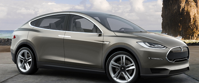 The Tesla Model X is an all-electric, high-performance SUV scheduled for release in 2014. Photo courtesy of Tesla Motors