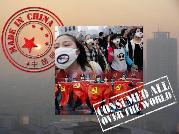China Air Pollution Masks