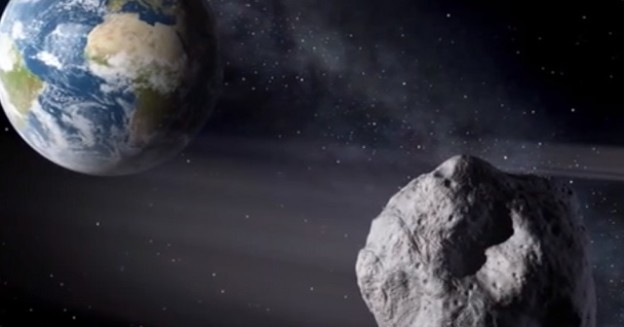 NASA estimates that a football field-sized asteroid like 2012 DA14 (which came close to us Feb. 15, 2013) buzzes Earth about once every 40 years. The agency has put out an open call for ideas on identifying, studying, and if need be, diverting asteroids. Illustration courtesy of NASA