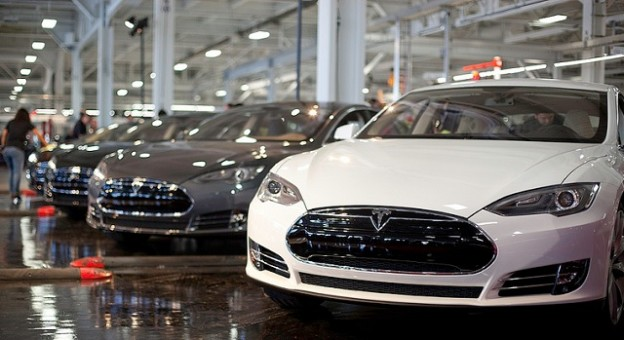 Powered by strong sales of its Model S electric car, Tesla Motors surprised Wall Street with impressive earnings and a surging stock. Now the question is, can it maintain that momentum? Photo courtesy Tesla Motors