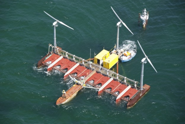 floating power plant